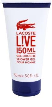 Lacoste Live gel de duche para homens 150 ml