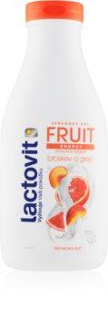 Lactovit Fruit енергизиращ душ-гел