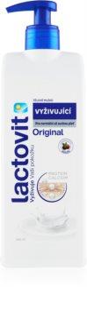 Lactovit Original подхранващ лосион за тяло с дозатор