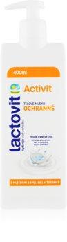 Lactovit Activit тоалетно мляко за тяло за защита на кожата