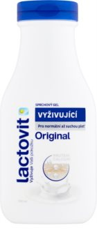 Lactovit Original θρεπτικό τζελ για ντους για κανονικό και ξηρό δέρμα