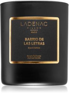 Ladenac Barrios de Madrid Barrio de Las Letras scented candle