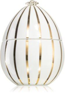 Ladenac Faberger Huevo Golden Lines White bougie parfumée