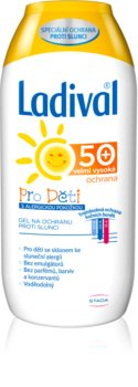Ladival Kids προστατευτικό κρεμώδες αντηλιακό τζελ  κατά της ηλιακής αλλεργίας SPF 50+
