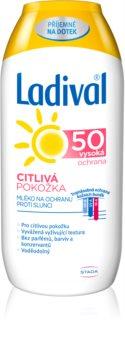 Ladival Citlivá Pokožka mléko na opalování pro citlivou pokožku SPF 50