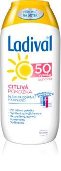 Ladival Sensitive latte abbronzante per pelli sensibili SPF 50