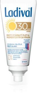 Ladival Anti-aging & Dark Spots слънцезащитен крем за лице SPF 30