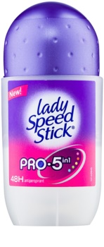 Lady Speed Stick Pro 5 in1 roll-on antibacteriano 48 h