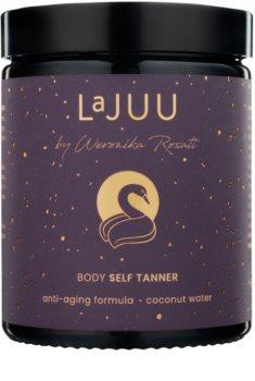 Lajuu Body Self Tanner önbarnító készítmény a bőröregedés ellen