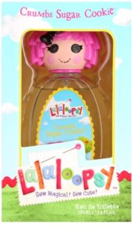 Lalaloopsy Crumbs Sugar Cookie Eau de Toilette para crianças 100 ml