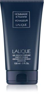 Lalique Hommage À L'Homme Voyageur gel de douche pour homme