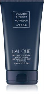 Lalique Hommage À L'Homme Voyageur gel doccia per uomo