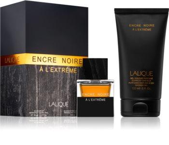 Lalique Encre Noire A L'Extreme lote de regalo I. para hombre
