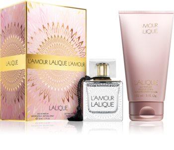Lalique L'Amour zestaw upominkowy III. dla kobiet