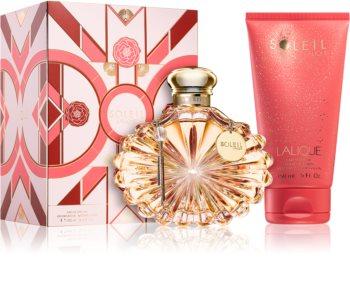 Lalique Soleil coffret cadeau I. pour femme