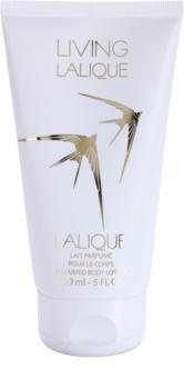 Lalique Living Lalique leite corporal perfumado para mulheres