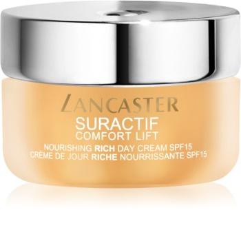 Lancaster Suractif Comfort Lift Nourishing Rich Day Cream crema hranitoare cu efect de lifting SPF 15