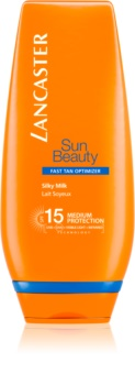 Lancaster Sun Beauty hodvábne opaľovacie mlieko SPF 15