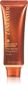 Lancaster Infinite Bronze Face Bronzer bronzující gel na obličej SPF 15