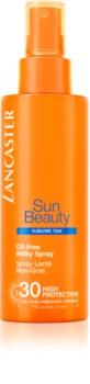 Lancaster Sun Beauty Oil-Free Milky Spray немазно слънцезащитно мляко в спрей SPF 30