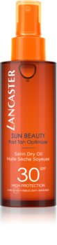 Lancaster Sun Beauty сухо масло за слънчеви бани в спрей SPF 30