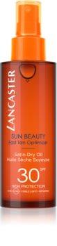 Lancaster Sun Beauty Satin Dry Oil Droge Olie voor Bruinen in Spray  SPF 30