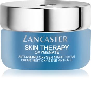 Lancaster Skin Therapy Oxygenate creme de noite antirrugas para pele radiante