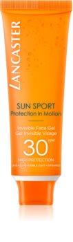 Lancaster Sun Sport Invisible Face Gel gel viso effetto matte SPF 30