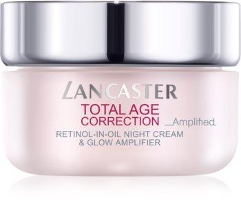 Lancaster Total Age Correction _Amplified noční protivráskový krém pro rozjasnění pleti