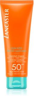 Lancaster Sun for Kids Comfort Cream voděodolný krém na opalování SPF 50