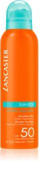 Lancaster Sun for Kids Invisible Mist protector solar en aerosol resistente al agua  SPF 50