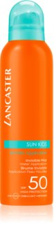 Lancaster Sun for Kids Invisible Mist Vedenkestävä Aurinkosumu SPF 50
