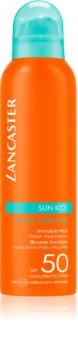 Lancaster Sun for Kids Invisible Mist vízálló napozó krém SPF 50