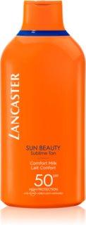 Lancaster Sun Beauty Comfort Milk leite bronzeador SPF 50