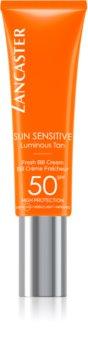 Lancaster Sun Sensitive BB krém nagyon magas UV védelemmel az érzékeny arcbőrre