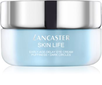 Lancaster Skin Life притивобръчков крем за околоочната зона, намаляващ отоците и черните кръгове