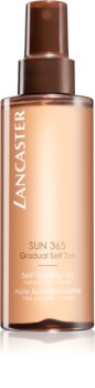 Lancaster Sun 365 Self Tanning Oil huile auto-bronzante pour un bronzage progressif