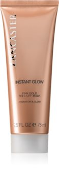 Lancaster Instant Glow Pink Gold Peel-Off Mask maska złuszczająca do rozjaśnienia i nawilżenia