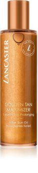 Lancaster Golden Tan Maximizer After Sun Oil Body Oil to Extend Tan Lenght
