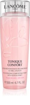 Lancôme Tonique Confort Feuchtigkeitscreme  und beruhigendes Tonikum für trockene Haut