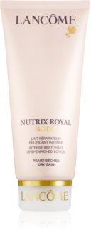 Lancôme Nutrix Royal Body megújító testápoló krém száraz bőrre