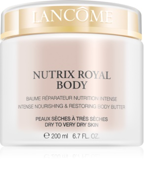 Lancôme Nutrix Royal Body intenzíven tápláló és megújító krém Száraz, nagyon száraz bőrre