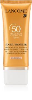 Lancôme Soleil Bronzer Sonnencreme fürs Gesicht SPF 50
