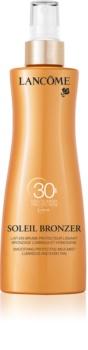 Lancôme Soleil Bronzer opalovací mléko SPF 30