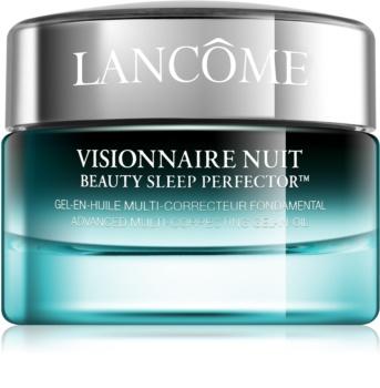 Lancôme Visionnaire Nuit Gel-Nachtcreme zur Feuchtigkeitsversorgung und Glättung der Haut