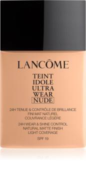 Lancôme Teint Idole Ultra Wear Nude ľahký zmatňujúci make-up
