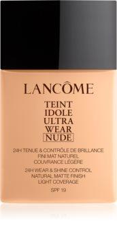 Lancôme Teint Idole Ultra Wear Nude maquillaje ligero matificante