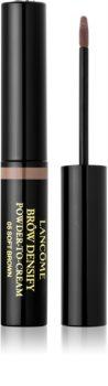 Lancôme Brôw Densify Powder-to-Cream poudre sourcils couleurs texture crème