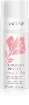 Lancôme Accord 3 Roses Déodorant Pureté deodorante roll-on per pelli sensibili