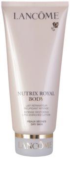 Lancôme Nutrix Royal Body lait corporel rénovateur pour peaux sèches